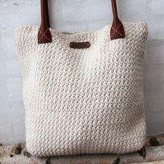 Go Handmade Star Stitch Stor Taske - Køb kvalitetsgarn hos YarnLiving Crochet Clutch Bags, Crochet Tote, Crochet Handbags, Knit Crochet, Knitting Accessories, Bag Accessories, Crochet Market Bag, Diy Purse, Star Stitch