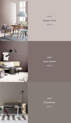 Color Trends 2018 12 New ColorsCIN Color Tre… – Hannah Gatzweiler – Fotografie – Trend Paint Colors For Living Room, Paint Colors For Home, House Colors, Living Room Decor, Colour Schemes For Living Room Warm, Taupe Living Room, Brown Paint Colors, Taupe Paint, Brown Color Schemes