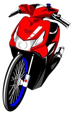 Logo Sticker, Sticker Design, Motor Logo, Motorbike Design, Cloud Wallpaper, Thai Art, Samurai Art, Fishing Outfits, Vector Photo