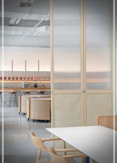"""Shanghai restaurant by Office Coastline for Genshang is a """"gentle sequence of spaces"""" Restaurant Bar, Restaurant Design, Restaurant Marketing, Architecture Restaurant, Interior Architecture, Commercial Design, Commercial Interiors, Cafe Interior, Interior Design"""