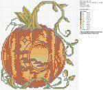free chart pumpkin