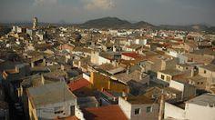 Bulleros de Murcia: Vista de Bullas desde la Torre del Reloj