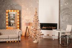 Wood Christmas tree height 210 cm 83 inch wooden safe tree | Etsy Wooden Christmas Tree Decorations, Wood Christmas Tree, Christmas Minis, Xmas Tree, Simple Christmas, Christmas Tree Ornaments, Pallet Tree, Christmas Tree Advent Calendar, Tree Shelf