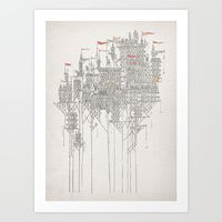 Art Prints by David Fleck | Society6