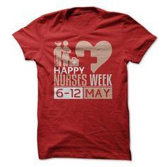 Happy Nurses Week - #sweatshirt cutting #big sweater. OBTAIN => https://www.sunfrog.com/Jobs/Happy-Nurses-Week.html?68278