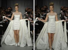 impressive In wedding dresses with convertible skirt detachable ...
