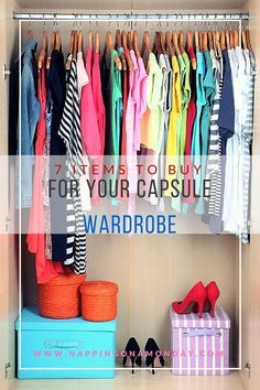 Look amazing with these 7 Items To Buy For Your Capsule Wardrobe! These base pieces create tons of amazing looks!
