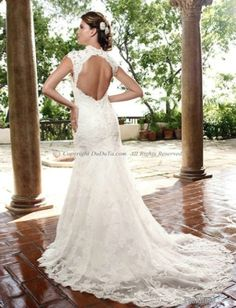 A-Line High Neck Sleeveless Sweep Wedding Dresses With Embroidery/Wedding Dress/wedding gowns/bridal dresses by aric