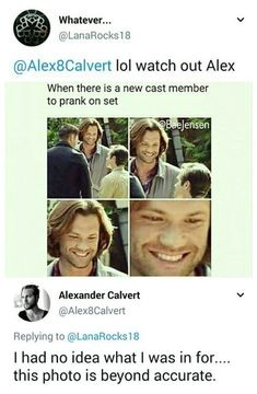 New cast member to prank for Jared ❤