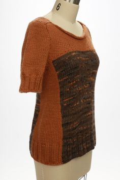 Jennette Cross - Haunt and Fade. (FF - Challenge Knits, Knitwear, Fiber, Challenges, Pullover, Knitting, Sweaters, Design, Fashion