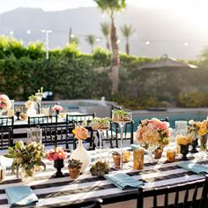 Joanna & Adam's Palm Springs Wedding (Event Design by Beau  & Arrow, Florals by Isari, Photography by Jessica Claire)