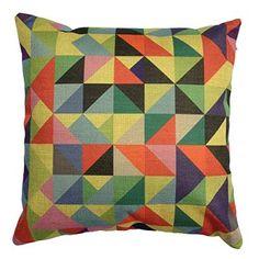"Buankoxy Cotton Linen Square Throw Pillow Case Decorative Cushion Cover Pillowcase 18 ""X18 "" Color Plaid"