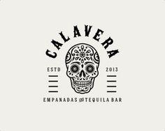 Illustrative Calavera logo  / repinned on Toby Designs