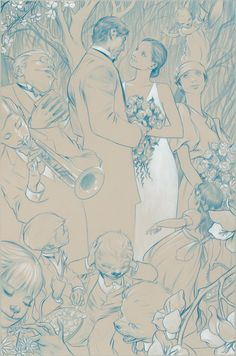 Fables/Covers #50 james jean. one of my favorite artists