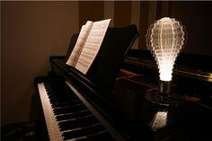 URI Led Light Bulb I Solar System Design Modern Lamp