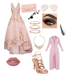 A fashion look from May 2017 featuring long sequin dresses, pink jacket and high heeled footwear. Browse and shop related looks. Long Sequin Dress, Pink Jacket, Vivienne Westwood, Talbots, Lime Crime, Sequins, Fashion Looks, Formal Dresses, Polyvore