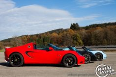 Three Lotus Cars - The Belgian Ardennes Drive. Click through to read more. #rallyways #lotus #lotuselise #elise