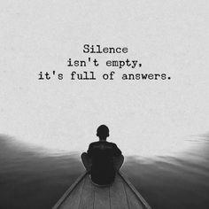 Silence isn't empty.. —via http://ift.tt/2eY7hg4