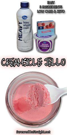 Keto Creamsicle Jello - screwed on straight