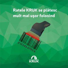 Stiati ca puteti plati ratele la KRUK Romania la aproape orice magazin de langa voi? De la marile centre comerciale la micile chioscuri de la colt, puteti plati ratele folosind serviciile PayPoint, Payzone, ZebraPay sau Qiwi. Trebuie doar sa scanati codul de bare din scrisoarea de la  KRUK. La ZebraPay sau Qiwi puteti plati fara cod de bare, daca introduceti CNP-ul, numarul dosarului KRUK si numarul vostru de telefon. Acum este mai usor sa fiti #faradatorii