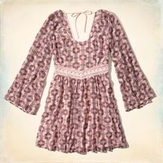Boho Bell Sleeve Dress