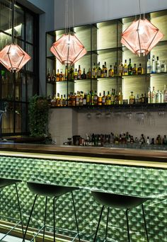 Bar Design Restaurant Lounge 33 - R E - Bar Interior Design, Restaurant Interior Design, Cafe Design, Design Design, Small Restaurant Design, Design Styles, Design Trends, Coffee Bar Design, Coffee Bar Home
