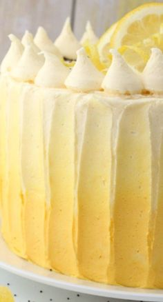 Lemon Sunshine Cake
