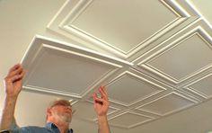 Basement Remodeling, Basement Ideas, Kitchen Remodeling, Basement Makeover, Basement Flooring, Remodeling Ideas, Ceiling Design, Home Renovation, Home Projects