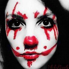 Makeup love  #clown #halloweeniseveryday #cosmetics #makeupjunkie #makeupgeek #makeuplover #makeuplooks #artisintheeyeofthebeholder #halloweenmakeup #clowningaround #makeupporn #fx #creativemakeup #fantasymakeup #ilovethisshit #sugarpill #morphebrushes #mehronmakeup #makeuppalette