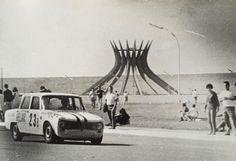 Piero Gancia + Marivaldo Fernandes - Alfa Romeo Giulia TI Super - Scuderia Jolly Gancia - Winners Brasilia 1000 kms 1966.