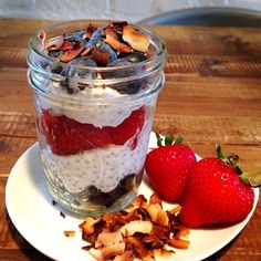 Chia seeds are loaded with omega-3 fatty acids, protein, and fiber content. Sprinkle some in this Coconut Berry Chia Seed Pudding recipe. #healthyrecipes #breakfastrecipes #everydayhealth | everydayhealth.com