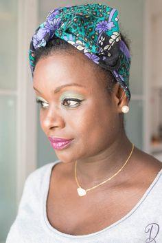 Tutoriel Spring Green & Purple make-up zao make-up, studio78 Paris, ecocentric, ilia, ecocert, organic, biologique, bio, Blondie accessoire et cheveux chic,