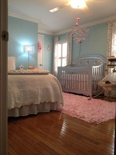 Great idea for a baby girls nursery.