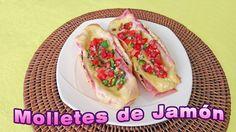 Rica receta para preparar molletes de jamón, fácil y rápida, explicada paso a paso. Sigue el Link: https://youtu.be/uMYOIOrwCmo