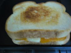 Grilled cheese made with Canadian Cheese, Simple Pleasures, Grilling, Bread, Food, Crickets, Breads, Baking, Meals