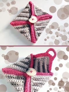 crochet mini-case ... FREE PATTERN ✿⊱╮Teresa Restegui http://www.pinterest.com/teretegui/✿⊱╮