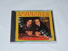 All Time Great Movie Themes by Ferrante & Teicher CD 1993 EMI Records Group #Orchestral