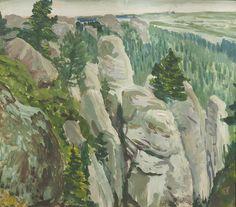 VISION (Antonín Hudeček (Czech, 1872-1941) On the...)