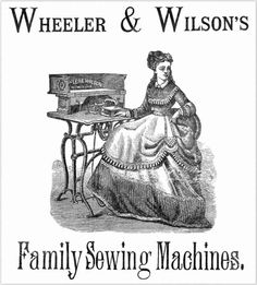 Wheeler & Wilson Sewing Machine Instructions Wonderful Machine, Antique Sewing Machines, Printables, Graphics, Writing, Graphic Design, Print Templates, Printmaking, Being A Writer