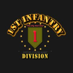 Check out this awesome '1st+Infantry+Division+-+Big+Red+One' design on @TeePublic!