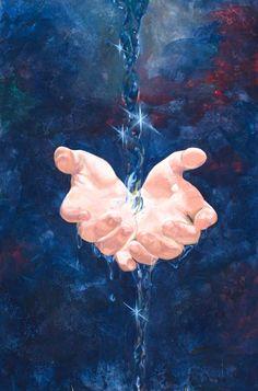 living water (amazing prophetic art)