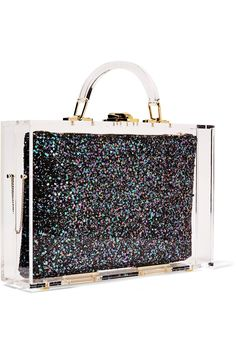 Shop on-sale Charlotte Olympia Constellation perspex box clutch. Browse other discount designer Clutch Bags & more on The Most Fashionable Fashion Outlet, THE OUTNET.COM
