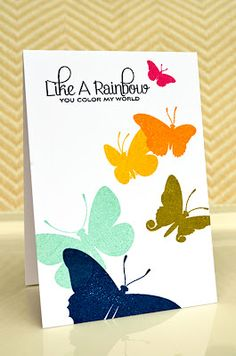 Card by Jessica Witty for Papertrey Ink (February 2012).
