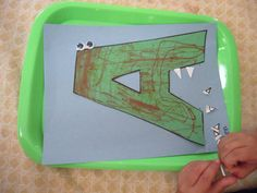 A great series of preschool activities for the letters