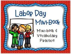 Labor Day Mini Book