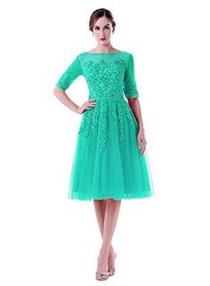 54178a19e3c Amazon.com  ShangShangXi Women s A-line Half Sleeves Knee Length Prom  Evening Cocktail Dress  Clothing