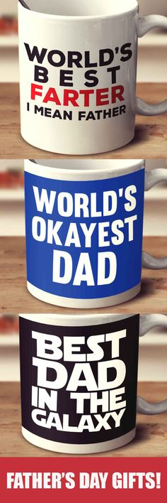 Father's Day Mugs - Perfect Gift Idea For Any Dad!