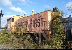 RailPictures.Net Photo: NREX 21 National Railway Equipment (NREX) EMD SW9 at Dixmoor, Illinois by Richard Rosinski Abandoned Train, Abandoned Places, Rust In Peace, Train Times, Railroad Photography, Rail Car, Old Trains, Electric Train, Bus