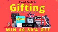 #Jabong - #Rakhi Gifting Store Minimum 40% - 80% OFF Clothing, Watches, Casual Wear, Girls Clothings
