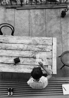 """ANDRÉ KERTÉSZ – WATCHING FROM ABOVE The word """"surveillance"""" is often loaded with heavy connotations that spark concerns about privacy lost to everything from government eavesdropping to video cameras on every street corner. But what if that word was paired with the story and photographs of the Hungarian photographer André Kertész? --- http://blog.burnedshoes.com/post/122772105781/andre-kertesz"""